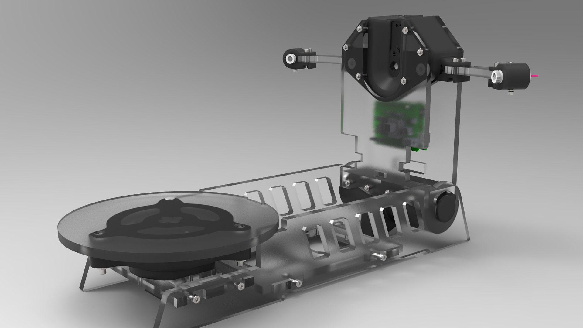 Scanner 3D Open Source (Pulsar S1)