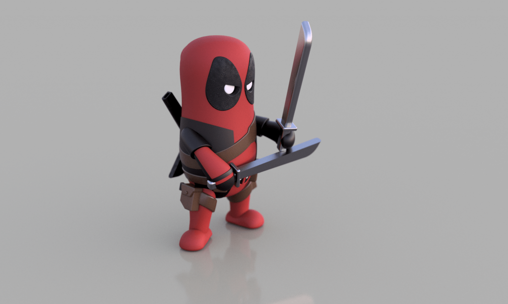 Deadpool STL (3d-work.es)