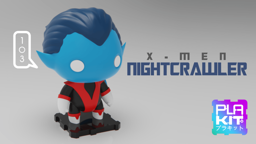 Nightcrawler STL (3d-work.es)