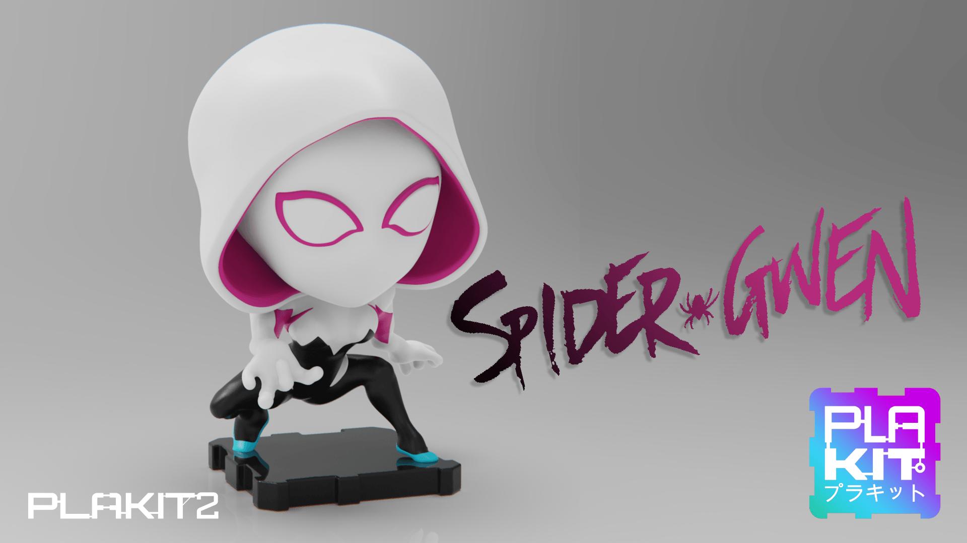 Spider Gwen STL (3d-work.es)