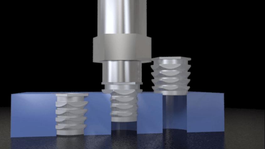 Insertos metálicos en impresión 3D (3dwork.io)