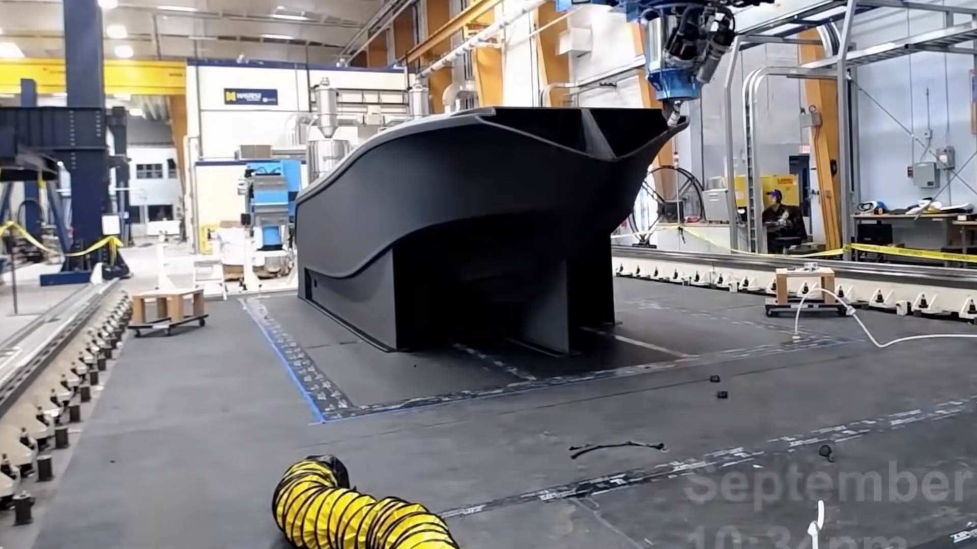Barco impreso en 3D bate 3 récords Guinness