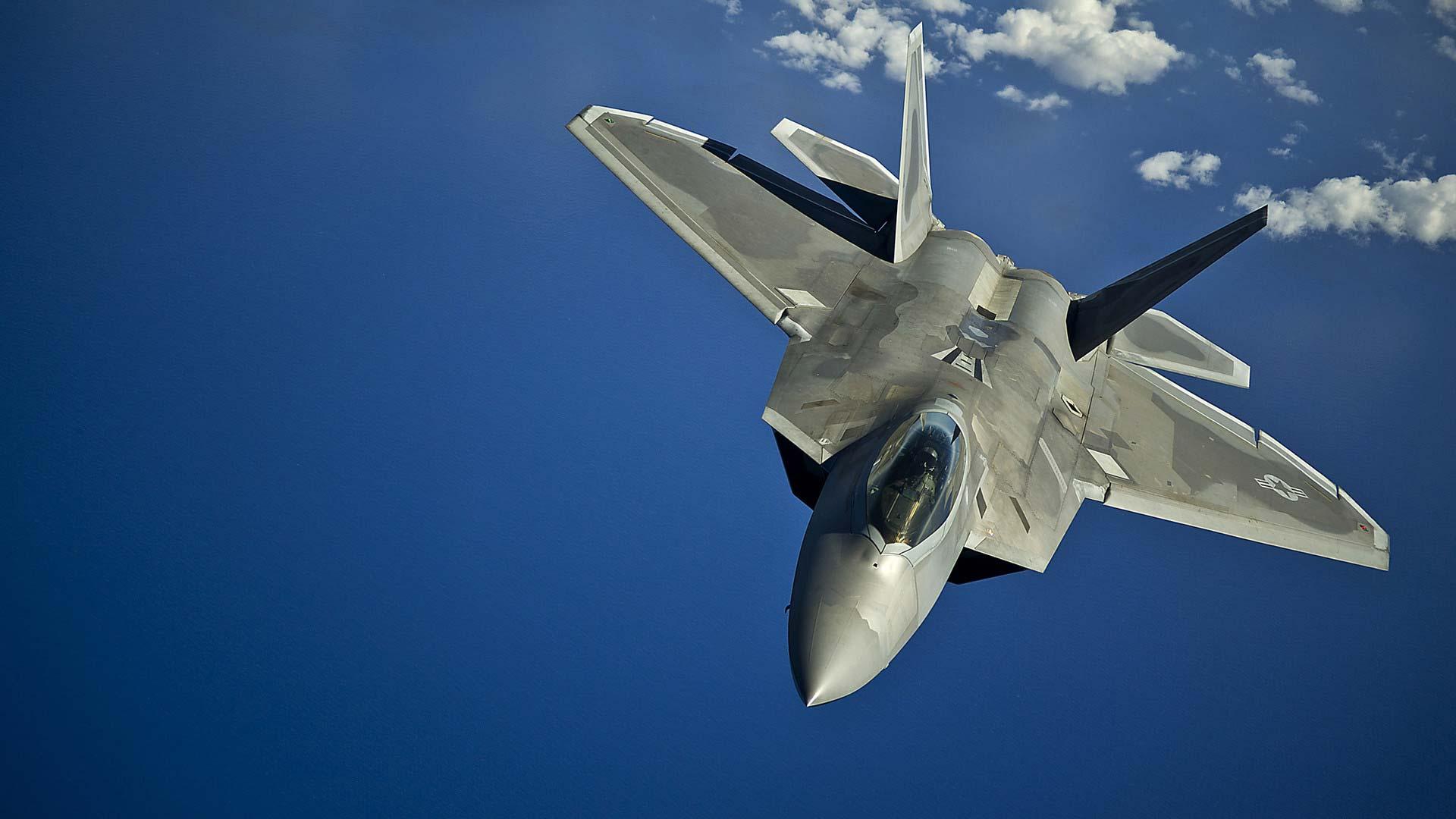 Impresión 3D metálica en cazas F-22 Raptor