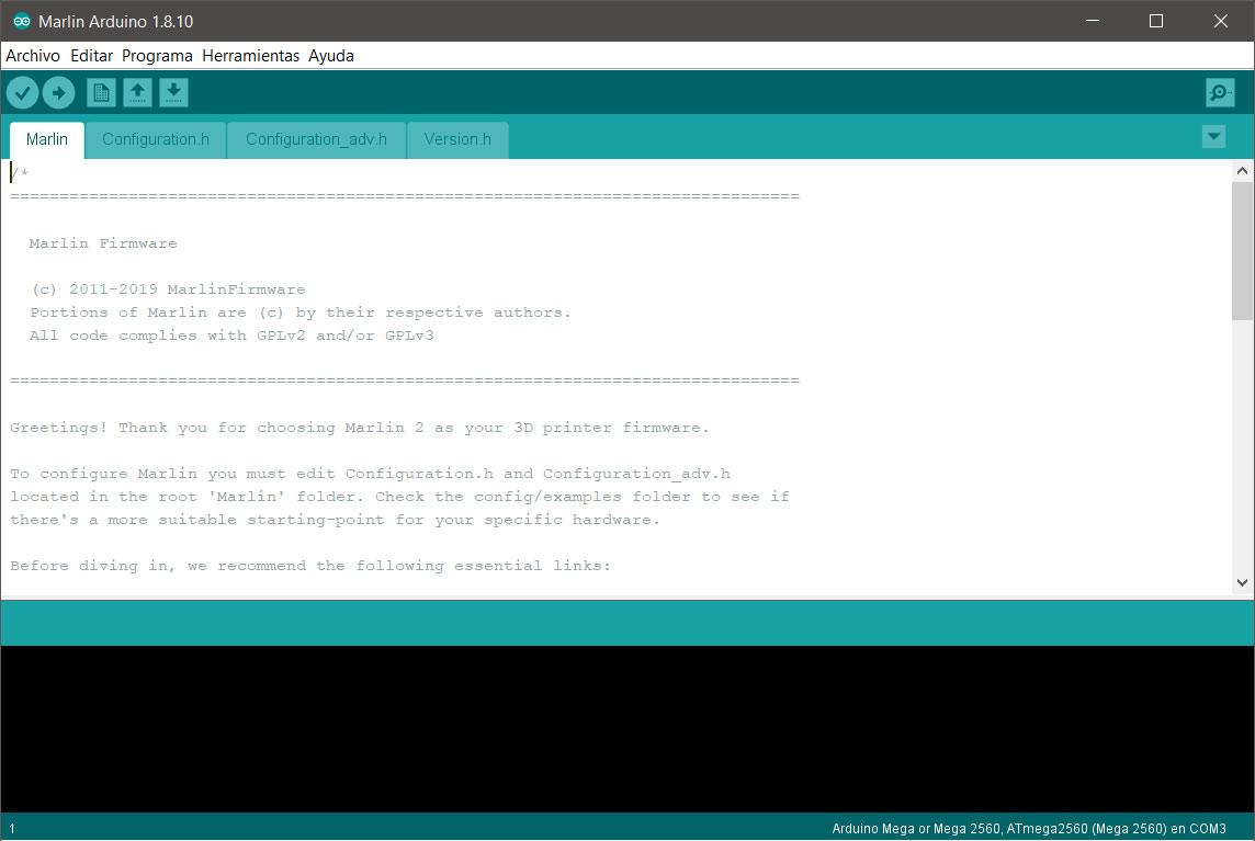 Guía completa para configurar Marlin 2.0.x desde cero y no morir en el intento