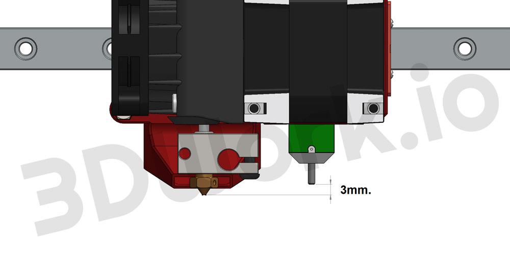Configurar sensor BLTouch / 3DTouch con Babystepping en Marlin 2.0.3 (MKS Gen v1.4)
