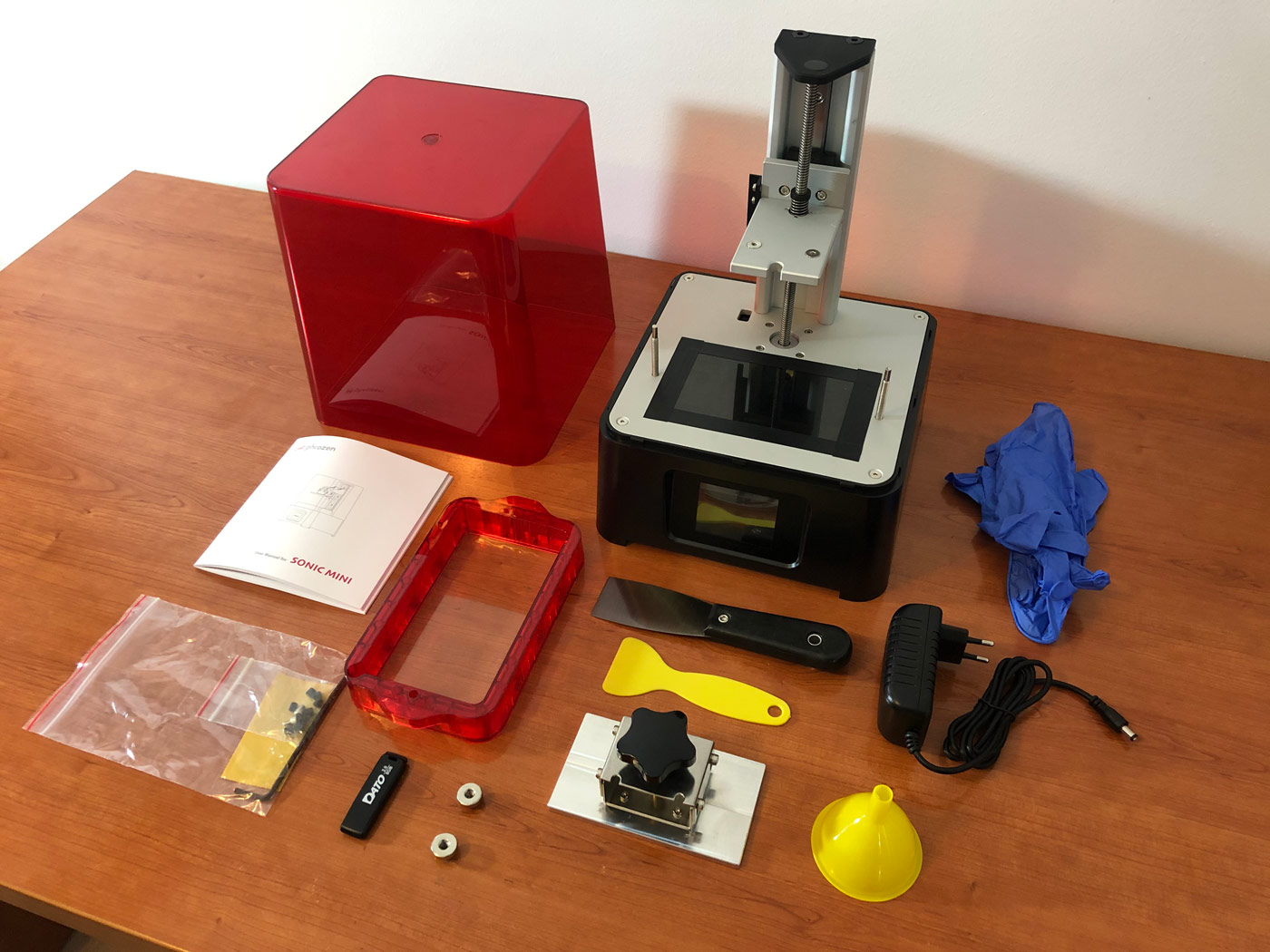 Análisis sobre la impresora de resina Phrozen Sonic Mini (Review)
