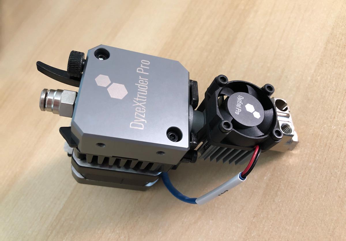 DyzeXtruder Pro: Análisis de un extrusor de alto rendimiento para entornos profesionales